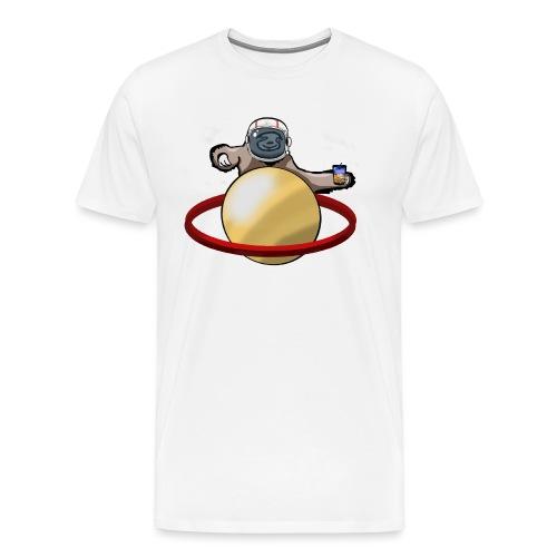 Faultier Astronaut - Männer Premium T-Shirt