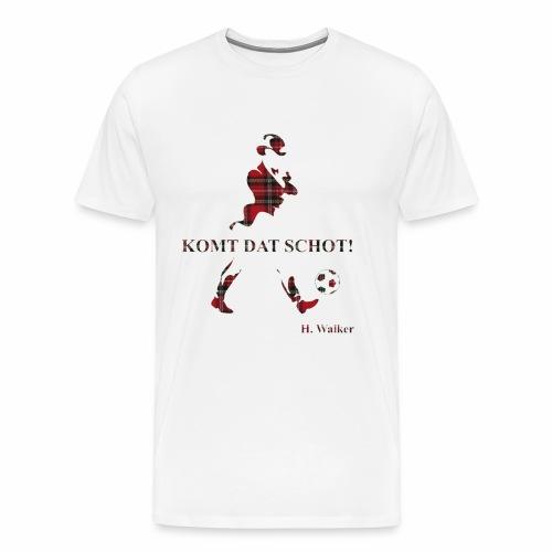 Komt dat schot! - Mannen Premium T-shirt