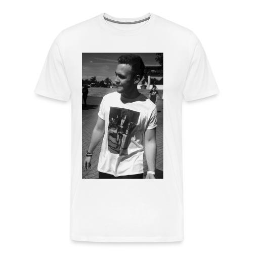 MrTimsonFire med DanVeteran tröja jpg - Premium-T-shirt herr