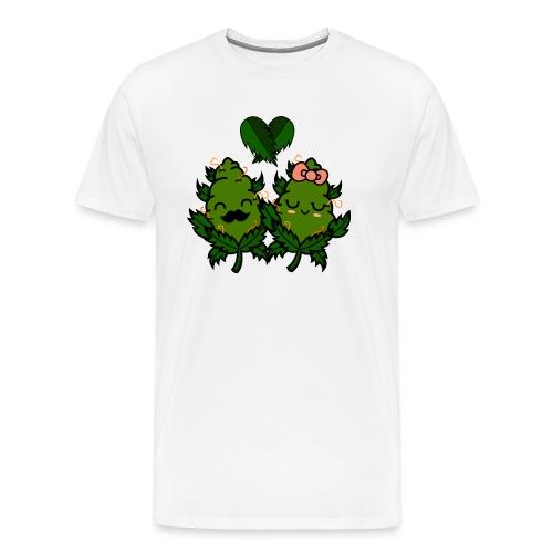 Mr & Ms Weed Nug - Camiseta premium hombre
