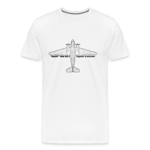 Daisy Blueprint Top 1 - Premium-T-shirt herr