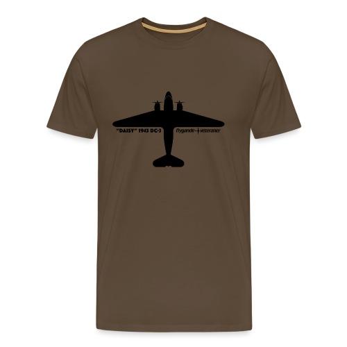 Daisy Silhouette Top 1 - Premium-T-shirt herr