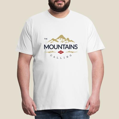 Outdoor mountain - T-shirt Premium Homme