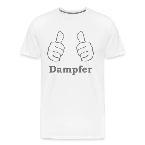 thumbs up Dampfen - Männer Premium T-Shirt