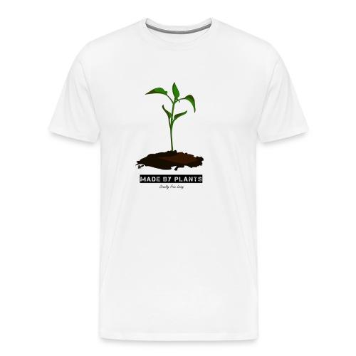 Made by plants - Men's Premium T-Shirt