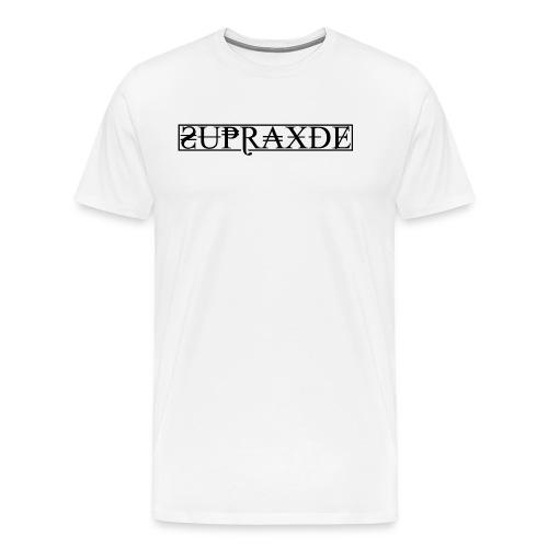 SupraxDE Logo Schwarz - Männer Premium T-Shirt