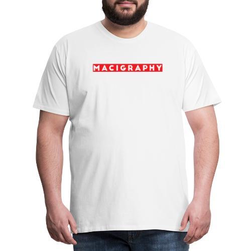 MACIGRAPHY - Camiseta premium hombre