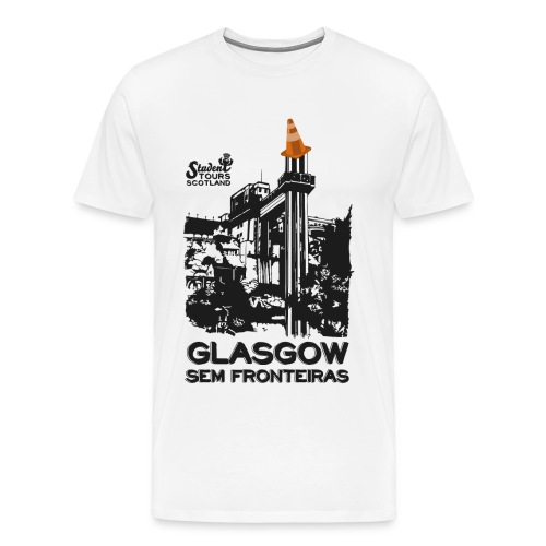 Glasgow Without Borders Brazil Bahia - Men's Premium T-Shirt