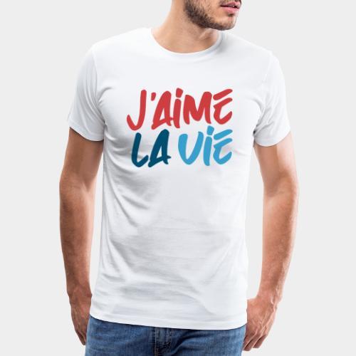 Ich liebe das Leben - T-shirt Premium Homme