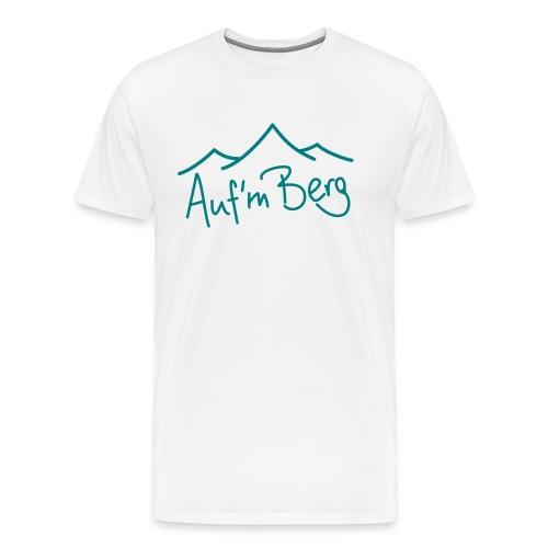Logo aufm Berg - Männer Premium T-Shirt