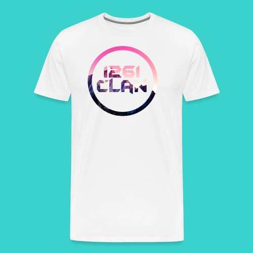 1261 Clan Pink Logo - Men's Premium T-Shirt