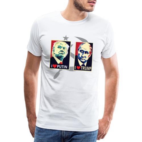 Trump Putin - Mannen Premium T-shirt