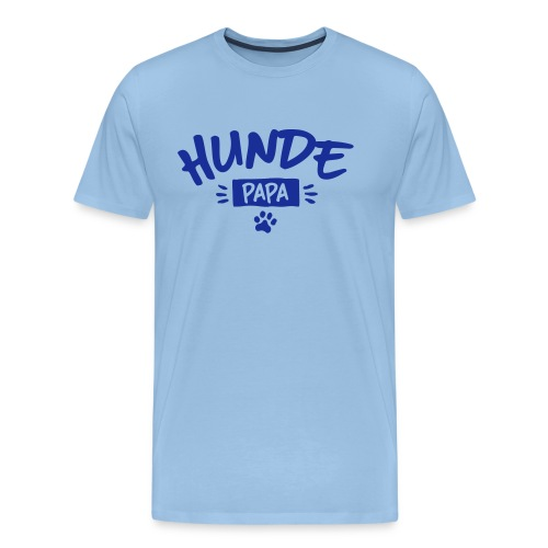 Vorschau: Hunde Papa - Männer Premium T-Shirt