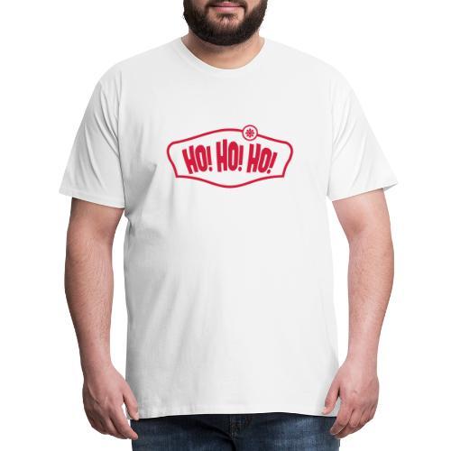 HO! HO! HO! WEIHNACHTEN, T-SHIRTS, GESCHENKIDEEN - Männer Premium T-Shirt