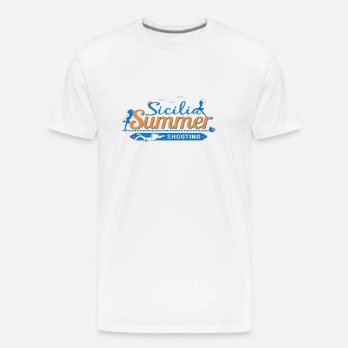 SICILIA SUMMER SHOOTING - Maglietta Premium da uomo