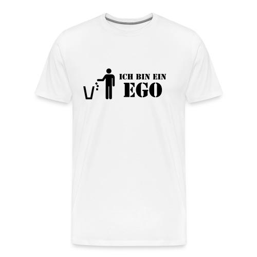 Ich bin ein Ego / sich selber mal beschenken! - Männer Premium T-Shirt
