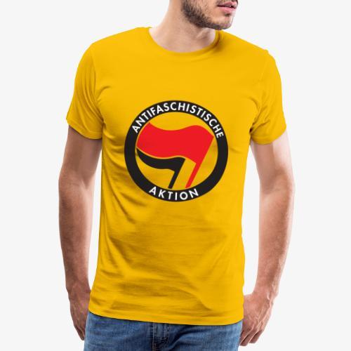 Atnifaschistische Action - Antifa Logo - Men's Premium T-Shirt