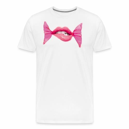 lipbonbon2 - Männer Premium T-Shirt