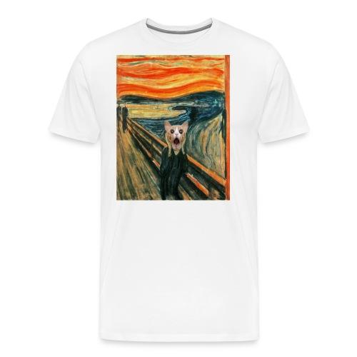 cat scream - T-shirt Premium Homme