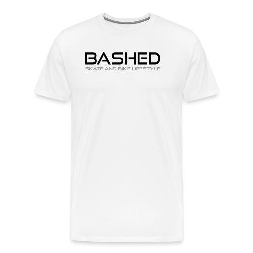 White iconic tee - Mannen Premium T-shirt
