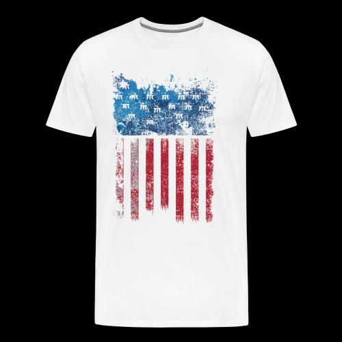 US Flag - T-shirt Premium Homme