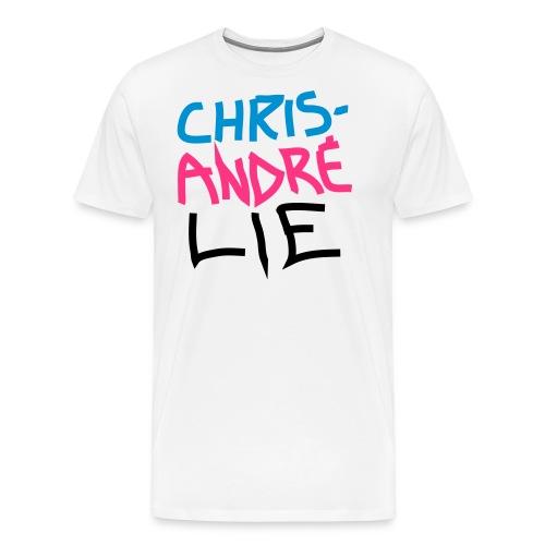 Chris_andre_lie - Premium T-skjorte for menn