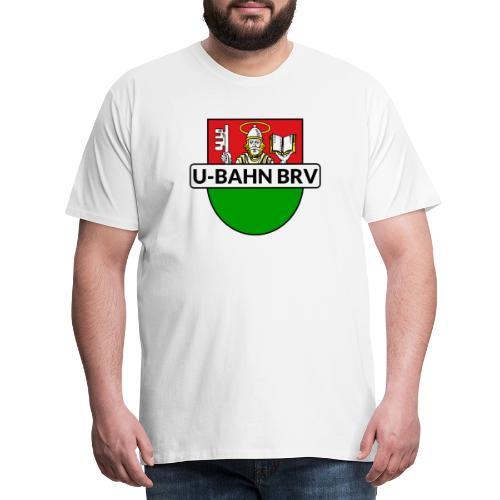 U-Bahn Bremervörde Logo - Männer Premium T-Shirt