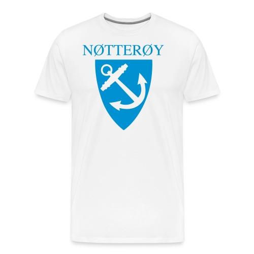 Nøtterøy T-skjorte - Premium T-skjorte for menn