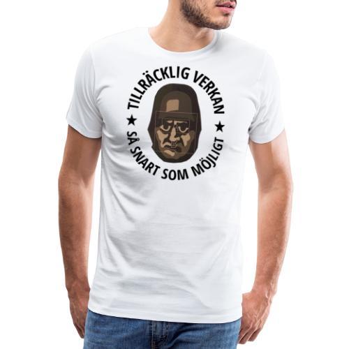 TILLRÄCKLIG VERKAN - Premium-T-shirt herr