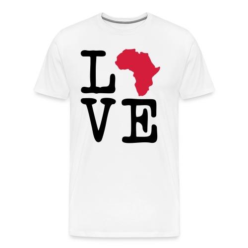 I Love Africa, I Heart Africa - Men's Premium T-Shirt