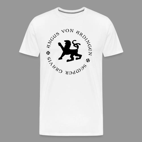 angus von ardingen semper gravis - Männer Premium T-Shirt