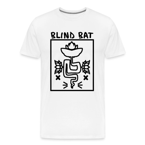 Blind Bat Lotus Black Box - Men's Premium T-Shirt