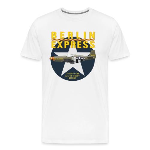 P-51B Berlin Express - T-shirt Premium Homme