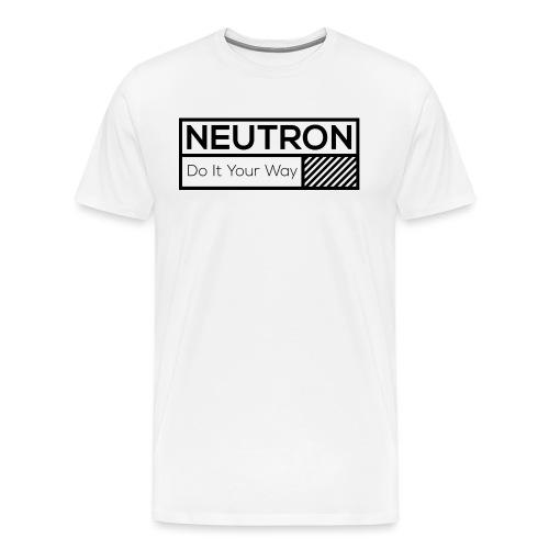 Neutron Vintage-Label - Männer Premium T-Shirt
