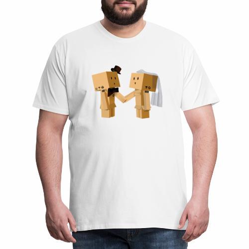 Wedding Boxes - Camiseta premium hombre