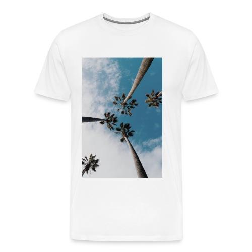 palm-tree-1209536_1920 - Premium-T-shirt herr