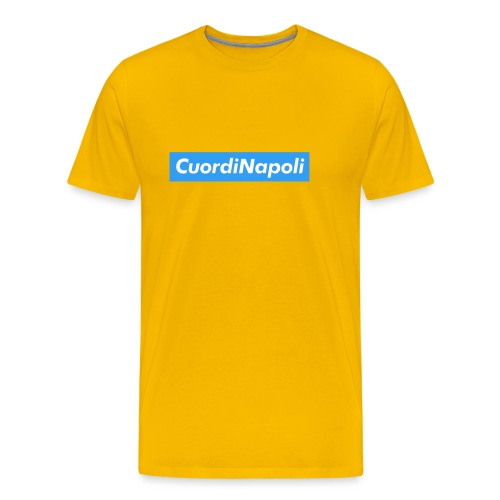 CuordiNapoli Young - Maglietta Premium da uomo