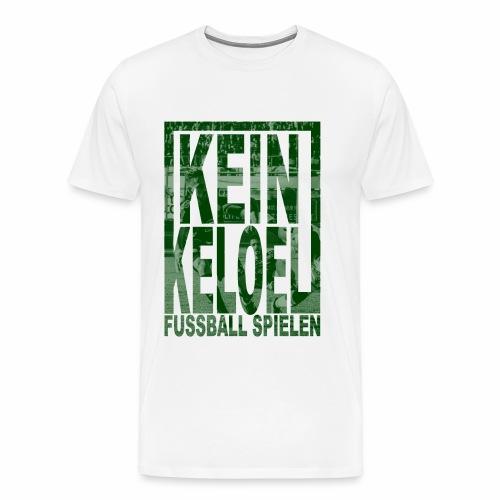 kein keloel - Mannen Premium T-shirt