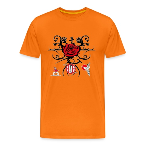 Rose rouge1 gif - T-shirt Premium Homme
