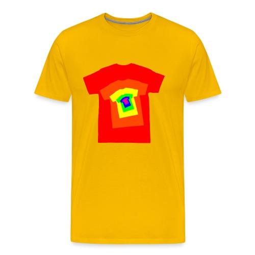 Rainbow T Shirt Spiral - Men's Premium T-Shirt