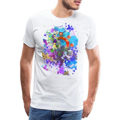 feel the blue... - Männer Premium T-Shirt
