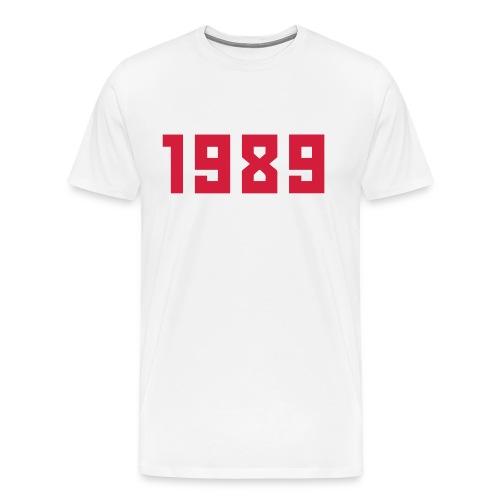 1989_2 - Männer Premium T-Shirt