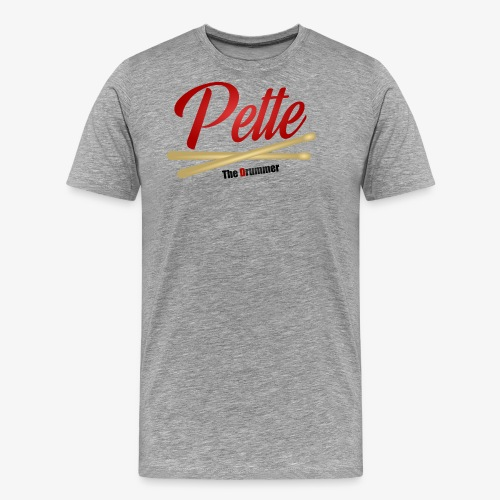 Pette the Drummer - Men's Premium T-Shirt