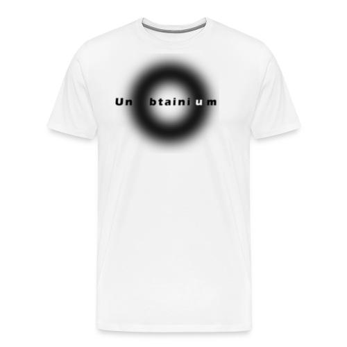Unobtainium Cricle Logo Black - Männer Premium T-Shirt