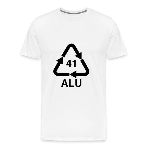 alu-logo - Männer Premium T-Shirt