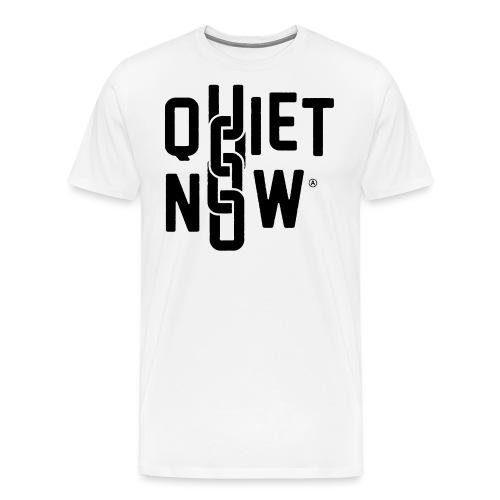 Quiet Now - Herre premium T-shirt