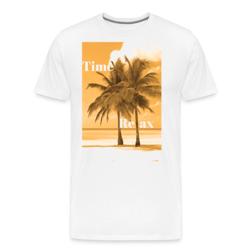 Time to Relax - Männer Premium T-Shirt