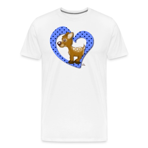 Kira Kitzi Blaubeere - Männer Premium T-Shirt