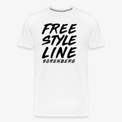 FS-Line brush black - Männer Premium T-Shirt