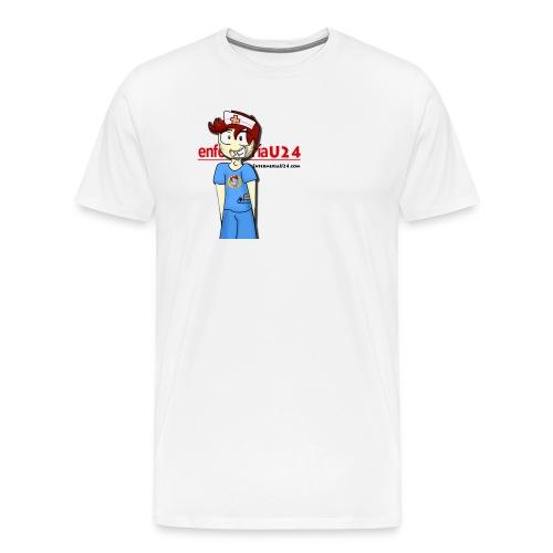 Enfermero Estresado U24 - Camiseta premium hombre